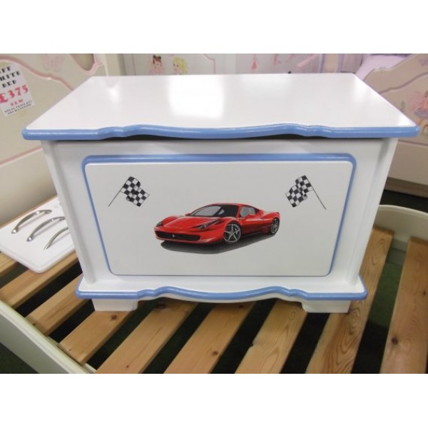 Toybox 2ft Fancy Red Sports Car