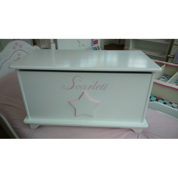 Toybox 3ft Plain & Simple With Star For Scarlett