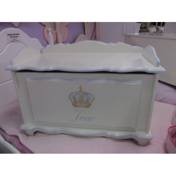 Toybox 3ft Fancy Crown With Side Rails