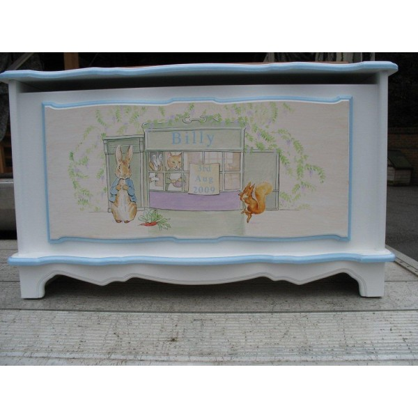 Toybox 3ft Fancy Style Peter Rabbit Design