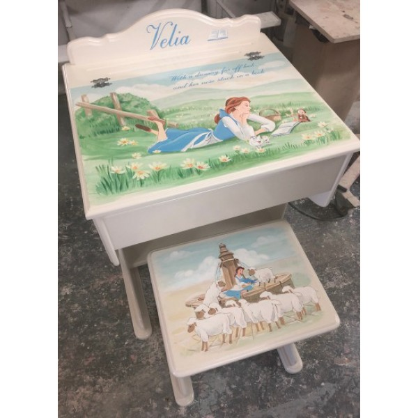 Belle Desk And Stool Very Special