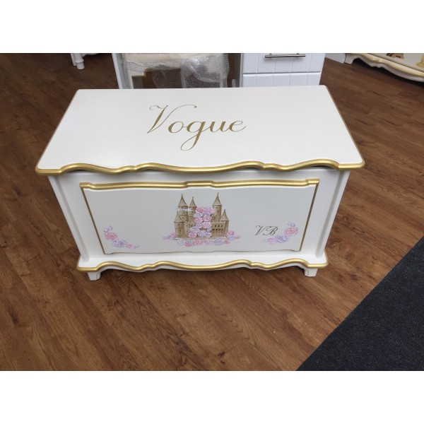Castle And Roses Toybox Personalised For Vogue