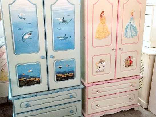 Chartley Hand Painted Desks